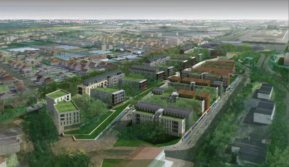 Oui à l'éco-quartier, mais pas sur le dos de l'avenir du fret ferroviaire